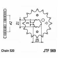 PIGNONE JT 569 z13  KAWASAKI 250 KDX 1991-2016