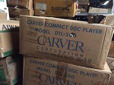 Carver DTL-200 CD Player BRAND NEW IN BOX!!! RARE VINTAGE!!!