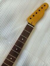Canadian maple rosewood fingerboard Tele neck 21 vintage hardwood