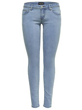 Ladies Hip Pants Onywonder Coral Low LB Jeans Za Skinny Drainpipe Light Blue New