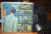 Ralph Marterie Dance Date LP Mercury MG-20053 Mono