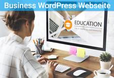 """""""Business"""" Webseiten Programmierung - Webdesign - WordPress Website- Homepage"""