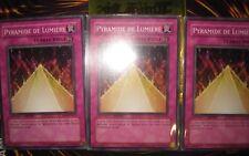 YU-GI-OH! PYRAMIDE DE LUMIERE MOV-FR004 PLAYSET (CARDS X3) NEAR MINT FRANCAIS