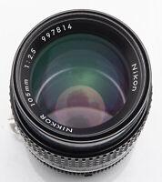 Nikon Nikkor 105mm 105 mm 1:2.5 2.5 AIS