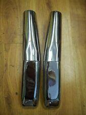 NOS Vintage Chrome Muffler Extensions Honda GL1000 GL 1000 Goldwing 78-79