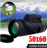 High Power 50*60 HD Monocular Telescope Shimmer Night Vision Outdoor Hiking