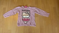Mädchen T-Shirt, langarm, rosa,Größe 110/116, Hello Kitty Motiv