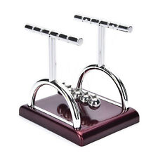 Newton's Cradle Steel Balance Ball Physics Science Pendulum Desk Fun Toy Gift GZ