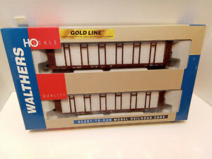 Walthers gold Line Pulp Wood Flat Car 2 Pack Southern 115560 HO Freight 9323162