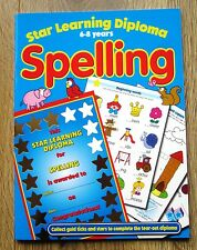 Spelling English Activity Book age 6 7 8 Homework School age Literacy KS 1 2