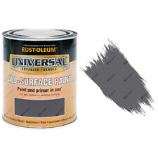Rust-Oleum Universal All-Surface Self Primer Paint Gloss Slate Grey 750ml