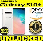 Samsung Galaxy S10+ Plus G975U1 (FACTORY UNLOCKED) 512GB CERAMIC WHITE ?O/ B?(w)