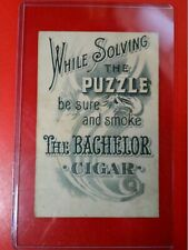 CIGARS THE BACHELOR CIGAR PUZZLE CARD LISTING TONS MORE AT GOLDENHILL3898