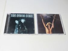 2x  DAVID BYRON (Uriah heep) Band  lost and Found....   take no prisoners    TOP