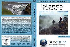Islands heiße Erde DVD, ausgefallene schöne Reiserouten, für jeden durchführbar