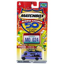 Matchbox Across America MO Missouri TV News Van #24 50th Birthday