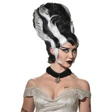 Bride of Frankenstein Wig Adult Halloween Costume Fancy Dress