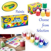 Crayola Paints - Crayola Washable Paints Selection - Individual and Sets - New