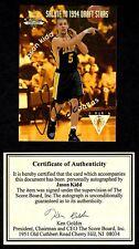 Jason Kidd 1994 Score Board National Convention Auto Autograph Card Draft Stars