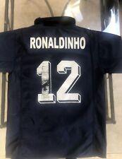 Maillot Foot Ancien Psg Paris Saint Germain Numero 21 Ronaldinho Taille 14 Ans