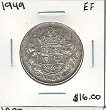 Canada 1949 50 Cents EF