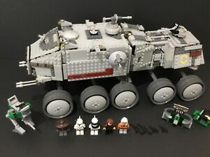 LEGO Star Wars 8098 Clone Turbo Tank Complete W/ 5 Minifigures No Manual (2010)
