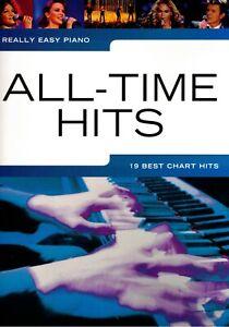 Klavier Noten : All-Time Hits (Really Easy Piano ) 19 Titel leicht - leiMittels