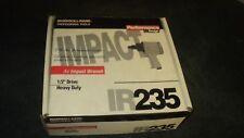 IR  Ingersoll RAND  235  1/2 IMPACT AIR GUN , NEW     heavy duty
