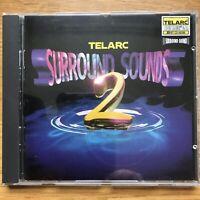 Classical Surround Sound 2 Telarc – CD-80496 US Mint 13 Trks Audiophile CD 1st