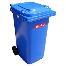 1 Stück SULO 80L blau Abfallbehälter Mülltonne Mistkübel Dreckbehälter Container