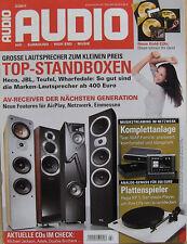 Audio 2/11 Heco Victa II 701, JBL Studio 180, Teufel Ultima 40, TEAC WAP-AX 250