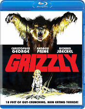 """GRIZZLY (1976) Blu-Ray Limited Edition GORE """"Jaws With Claws!"""" Scorpion *RARE"""