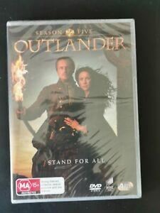 Outlander Season 5 Five DVD 4-Discs Set **BRAND NEW** Region 4 Aus MA15+ Series