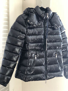 Moncler Bady Puffer Jacket Women Size 1(USA S) Color Black