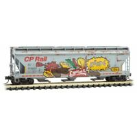 Soo Line/CP Rail 3Bay Covered Hopper Weathered & Graffiti MTL#094 51 093 N-Scale