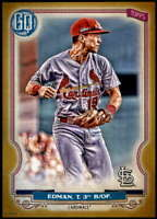 Tommy Edman 2020 Topps Gypsy Queen 5x7 Gold #291 /10 Cardinals
