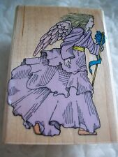 Angel Rubber Stamp Spiritual Religious Crafts Note Cards Scrapbooking Projects