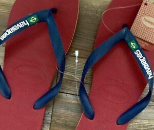 Havaianas Flip Flop Sandals - NWT - Red White Blue Womens 11-12M