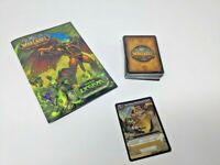 World of Warcraft TCG - 62 Cards, Manual, + Unscratched LOOT CARD