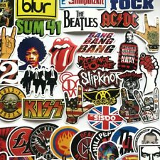 52 vinyl graphics stickers music band rock n roll