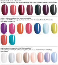 Avon Gel Finish Nail Enamel, nail polish, varnish carious shades clear top coat