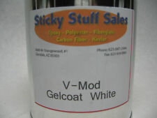 Professional grade White V-mod gelcoat w/MEKP*perfect for boats**no wax* 1 Quart
