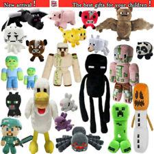 Minecraft Plush Kids Gift Children Stuffed Animal Soft Plushies Toy UK STOCK