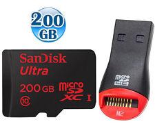 SANDISK ULTRA 90MB/s* microSDXC 200GB 200G micro SDXC microSD SD UHS-I CLASS10 +