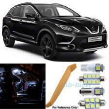 For Nissan Qashqai J11 2013-2018 LED Interior Premium Kit 8 SMD Bulbs HID White