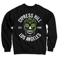 Cypress Hill Est 1988 Los Angeles Sugar Skull Totenschädel Männer Men Sweatshirt
