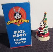 "1998 Looney Tunes BUGS BUNNY 4.25"" Cookie Stamp MIB C-2.5"