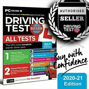 Driving Theory Test & Hazard Test - CAR. PC DVD CD ROM - NEW 2021 EDITION  wt