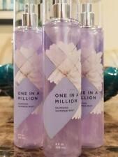 3 Bath & Body Works One In A Million Diamond Shimmer Mist Spray Perfume 8 Oz