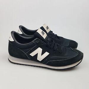 Women's NEW BALANCE '620' Sz 7.5 US Shoes Black White Leather | 3+ Extra 10% Off